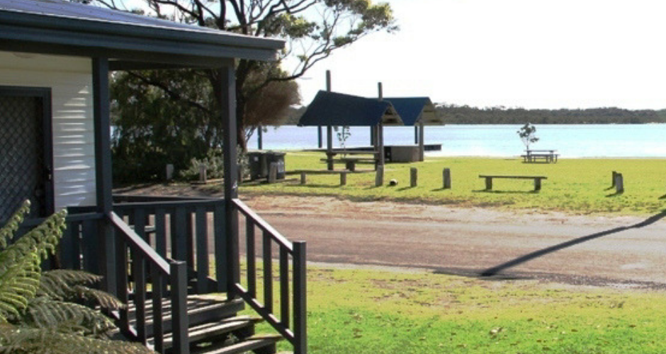 2 Bed Waterfront Cabins- South Coast Retreat image