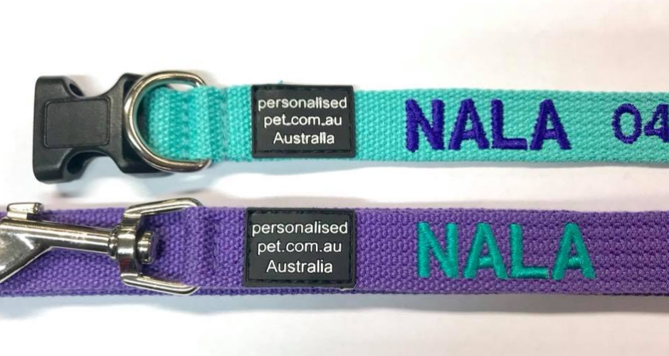 Personalised Pet Collars - NT (Delivery) - 1